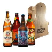 Kit Presente Dia dos Pais com Engradado Empório da Cerveja