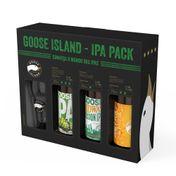 Kit Goose Island 3 Long Necks 355ml + Copo 473ml